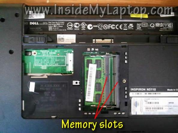 dell inspiron n5110 hard drive replacement instructions