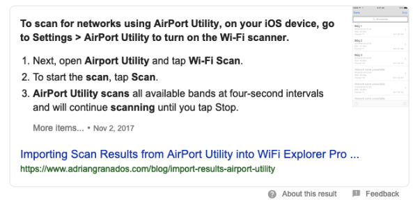 WiFi Scanner for iPhone & Android | VICHHAIY    Welcome!!!